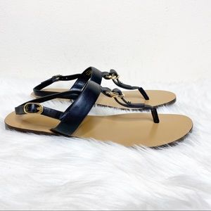 Charles & Keith Sandals Ankle Strap Black 8